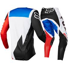 fox motocross gear nz new fox racomg 2017 mx 180 le fiend blue red jersey pants