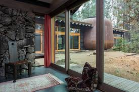 interior of a home designing a home without disrupting the land u0027s healing energy