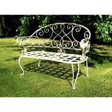metal outdoor bench treenovation
