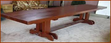large trestle dining table trestle table design for banquet seating for 14 using clients own