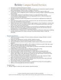 Subject Matter Expert Resume Samples by Job Announcement Uc Berkeley Operational Effectiveness Hr Lead S U2026