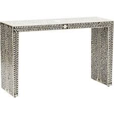 Ivory Console Table Black And Ivory Console Bernhardt