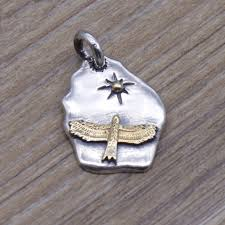 personalized sterling silver jewelry takahashi kagura goro s 925 sterling silver jewelry eagle sun