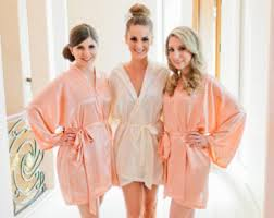and bridesmaid robes bridesmaid robes floral trims convo for more floral by maysilk