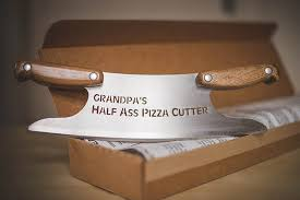 personalized pizza cutter personalized half pizza cutter big pizza cutter