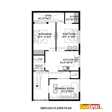 house plan for 23 feet by 45 feet plot plot size 115square yards