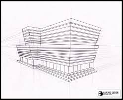 building concept perspective sketch by lair360 on deviantart