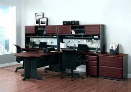Corner Desk Next Two Person Corner Desk Computer Office Inspired Armoire In