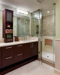 Teak Bathroom Storage Teak Shower Seat Bathroom Modern With None Beeyoutifullife Com