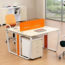Computer Work Station Desk Wholesale Price Modern Style Work Station Desk Cheap 2 Person