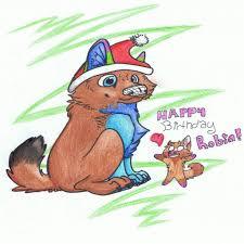 unique happy birthday robin images
