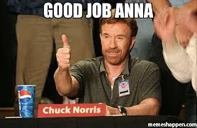 Anna Meme - good job anna meme chuck norris approves 20041 page 3