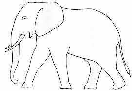 Dessin de coloriage Elephant à imprimer  CP10873