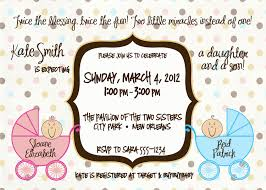 double baby shower invitations theruntime com