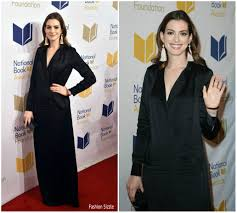Fashion Sizzlers Archives Fashionsizzle by Anne Hathaway In Halston Heritage At 68th National Book Awards
