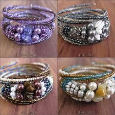 bracelet beading designs images Spiral bali beads bracelet designs rolling spiral bali beads jpg