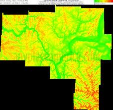 Counties Of Ohio Map by Free Vinton County Ohio Topo Maps U0026 Elevations