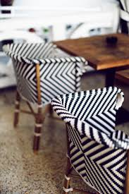 Brown Leather Accent Chair Set Of 2 Best 20 Striped Chair Ideas On Pinterest Black And White Chair