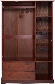 Real Wood Armoire 25 Best Wardrobes 3 Door Images On Pinterest Online Shopping