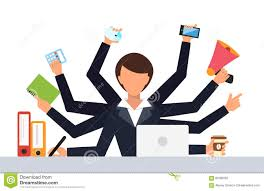 Office Work Images Office Job Stress Work Vector Illustration Stock Vector Image