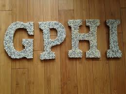 Decorating Wooden Letters The 25 Best Decorated Sorority Letters Ideas On Pinterest