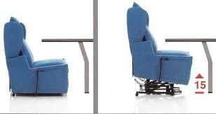 poltrone per invalidi poltrona relax sfoderabile firenze 4 alza persona con tavolino e 4