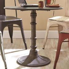 Industrial Bistro Table Bistro Table Ebay