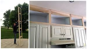 Reuse Kitchen Cabinets Extending Kitchen Cabinets Up To The Ceiling Reality Daydream