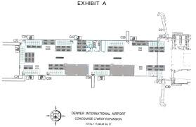 Denver Colorado Airport Map by Denver International Airport To Bring F U0026b And Retail To Gate