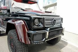mercedes 6x6 g class brabus mercedes g63 amg 6x6 official pictures and specs