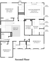 Arlington House Floor Plan Lake Forest Ca New Construction Homes Arlington At Parkside