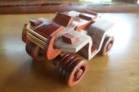 made by lloyd watson 4 wheeler bike wood toy plan for plan set