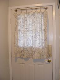 Side Window Curtain Rods Curtain For Door Window Side Home Design And Decoration