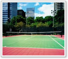 Backyard Tennis Courts by Maryland Tennis Court Surface Resurfacing Modular Tennis Flooring