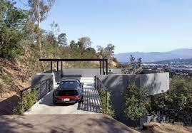 Modern Hill House Designs Architecture Concrete Structure In Sloping Hill House Design