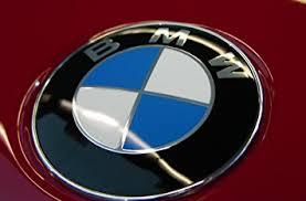 bmw car logo bmw car glossy chrome logo 3 5 7 series badge 82mm emblem 2
