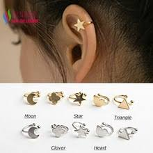 ear cuffs for pierced ears popular silver ear cuffs for pierced ears buy cheap silver ear