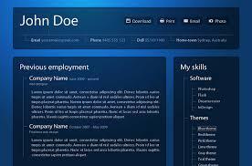 templates for professional website 50 professional html resume templates web graphic design bashooka