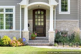 wood and glass exterior doors custom solid mahogany wood door insulated privacy rain glass