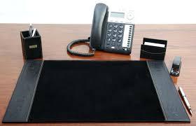 Desk Supplies For Office Alpha Phi Alpha Leather Desk Set By Apparel Alpha Desk 8 Leather