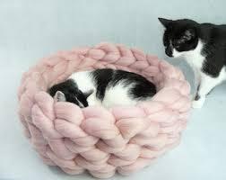 Kitten Bed Felt Cat House Etsy