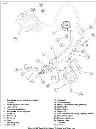 replace master cylinder rear axle harley davidson forums