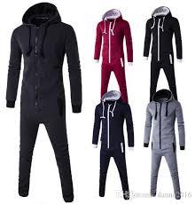 sweat suit jumpsuit autumn rompers jumpsuits for bodycon jumpsuit males