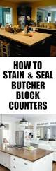 how to stain and seal butcher block counters the chronicles of home how to stain and seal butcher block counters