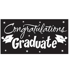 congratulations graduation banner congratulations graduate black graduation banner amys