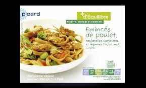 plat cuisiné picard plats préparés madiet céline maillard diététicienne nutritionniste