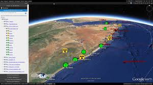 Nuclear Bomb Map Ten Most Radioactive Places On Earth Mapped Out Graphic