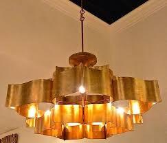 Lotus Chandelier Antiqued Gold Grand Lotus Chandelier The Designer Insider
