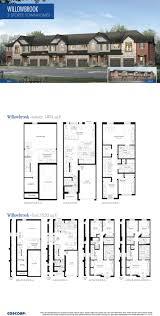townhomes floorplans southfields coscorp inc