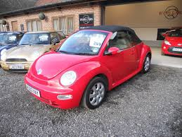 convertible volkswagen beetle used used 2003 volkswagen beetle cabriolet 8v for sale in chichester